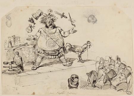 Un jongleur indien