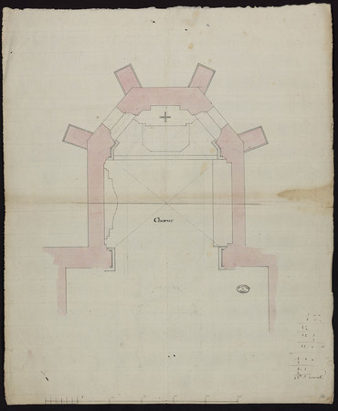 Ancien chœur de l'église de Bonsecours