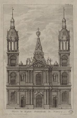 Façade de l'Église Primatiale de Nancy