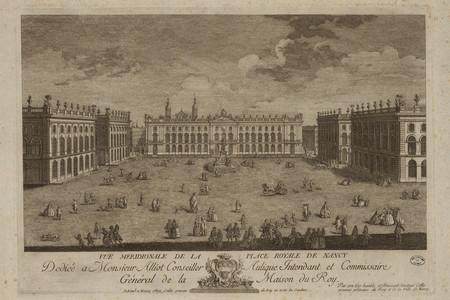Vue méridionale de la place royale de Nancy : dédiée à Monsieur Alliot con…