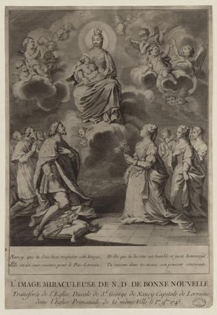 L'image miraculeuse de N[otre] D[ame] de Bonne Nouvelle transférée de l'Ég…