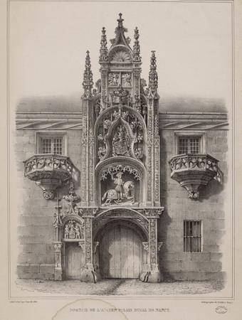 Portail de l'ancien Palais ducal de Nancy