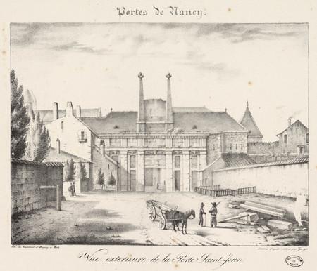 Vue extérieure de la Porte Saint-Jean