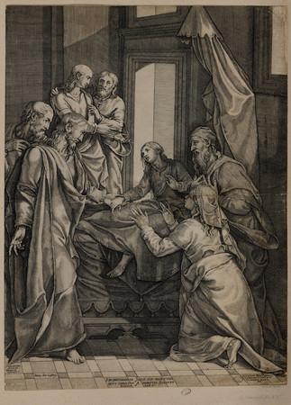 Jésus-Christ ressuscitant la fille de Jaïre