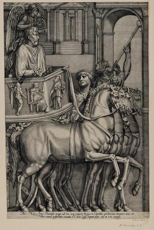Marc-Aurèle entrant en triomphe au capitole