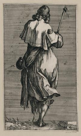 Saint Jacques le majeur : Jésus et les apôtres