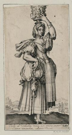 Jardinière au vase