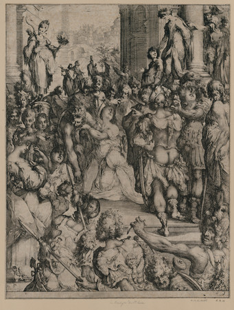 Le Martyr de sainte Lucie