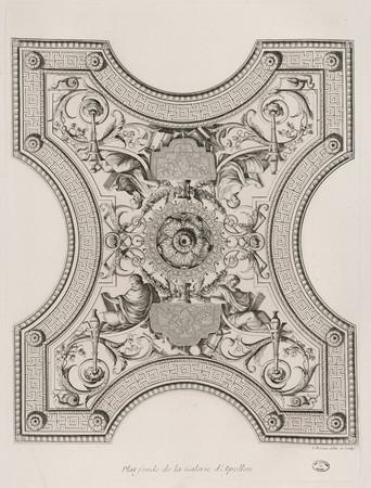 Plat-fonds de la Galerie d'Apollon