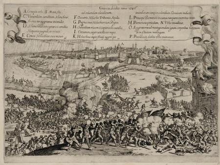 Le siège de Grave en 1586