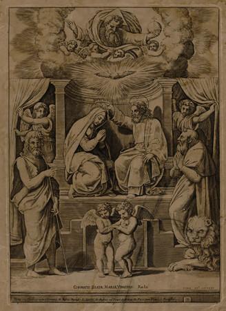 Le couronnement de la Vierge Marie