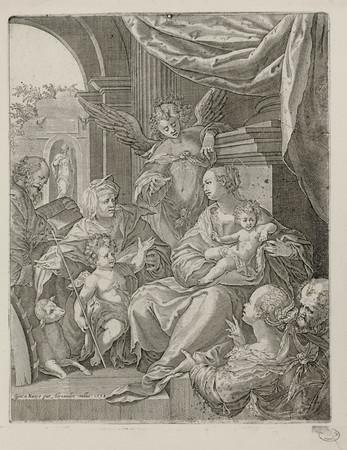 Sainte Famille avec Saint Jean et Sainte Elisabeth