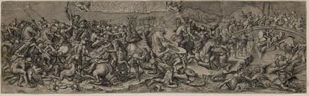 La bataille de Constantin, contre Maxence, d'après Raphaël