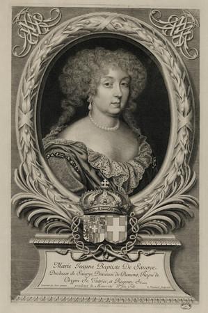 Marie Jeanne Baptiste de Savoye Duchesse de Savoye, Princesse de Piemont, …