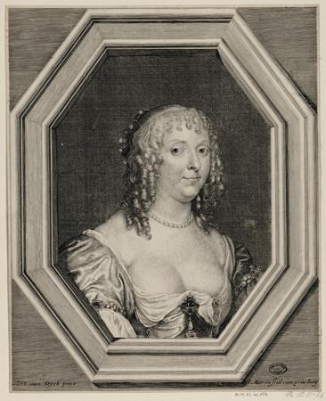 Portrait d'Honorine de Grimberge
