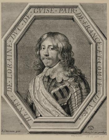 Henry de Lorraine, Duc de Guise, pair de France et Comte d'Eu