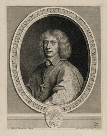 Henry de Savoye, archevesque et duc de Rheims, premier pair de France
