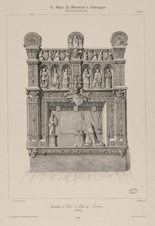 Tombeau de René II Duc de Lorraine à Nancy