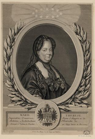 Marie Therese, Imperatrice Douairere, Reine d'hongrie et de Bohême, Archid…