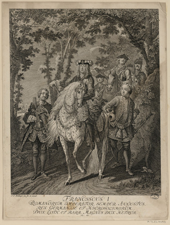 Franciscus I Romanorum Imperator, Semper Augustus, Rex Germaniae et Hieros…