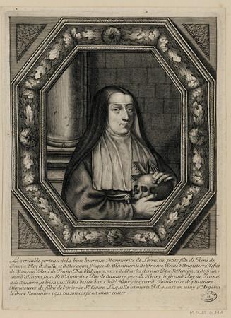 Portrait de Marguerite de Lorraine