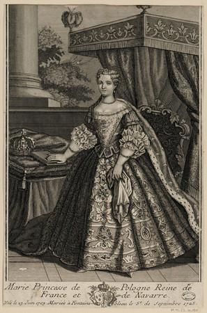 Marie Princesse de Pologne Reine de France et de Navarre, née le 23 Juin 1…
