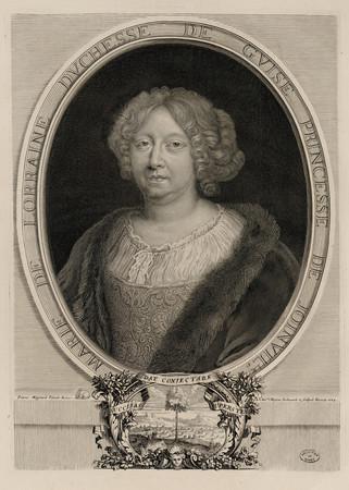 Marie de Lorraine Duchesse de Guise Princesse de Joinville