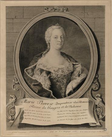 Marie Therese Imperatrice des Romains, Reine de hongrie et de Boheme