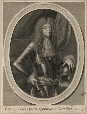 Carolus V. Des Gratia Lotharingiae et Barri Dux