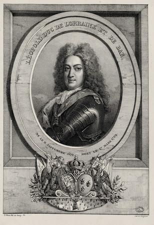 Léopold, duc de Lorraine et de Bar, né le 11 septembre 1679, mort le 27 ma…