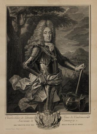 Charles Henri de Lorraine prince de Vaudémont, souverain de Commercy