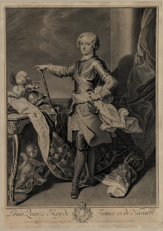 Louis quinze Roy de France et de Navarre