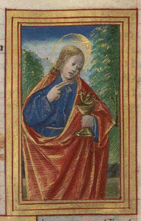 Saint Jean l'Evangéliste.