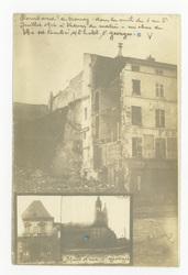 Bombardement de Nancy, dans la nuit du 1 au 2 juillet 1916 à 3 heures du m…