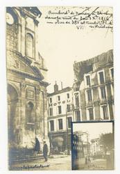 Bombardement de Nancy à 2h15 dans la nuit du 2 au 3 octobre 1916 un obus d…