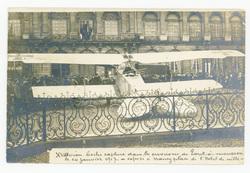 Avion capturé dans les environs de Pont-à-Mousson le 14 Janvier 1917, expo…
