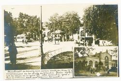 Bombardement de Nancy par avion nuit du 16 au 17 Juin 1917. Emplacement de…