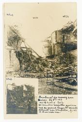 Bombardement de Nancy par avion 16 octobre 1917 de 18h45 à 20h 60 bombes t…