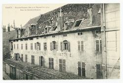 Rue du Général-Drouot, Nancy. Bombardement des 9-10 septembre 1914
