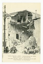 Nancy : bombardement par avions. Maison Pichard, rue Saint-Nicolas. Nancy …