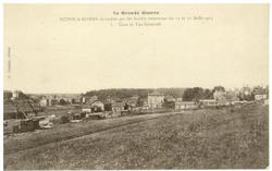 Audun-le-Roman incendiée par les hordes teutonnes les 21 et 22 Août 1914. …