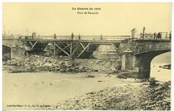 Pont de Baccarat.  La Guerre de 1914