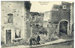 Blainville, Guerre 1914-1915