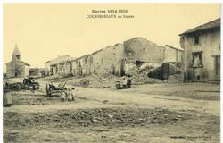 Courbesseaux en Ruines, Guerre 1914-1915