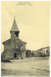Courbesseaux. L'Église, Guerre 1914-1915