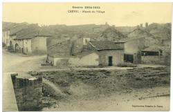 Crévic. Abords du Village, Guerre 1914-1915
