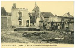 Crévic. La Maison du maréchal-ferrant assassiné par les Allemands