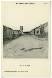 Rue de Flirey, la Guerre en Lorraine