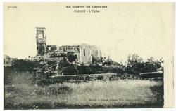 Flirey : l'Église, la Guerre en Lorraine