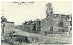 Flirey (M.-et-M.), la Guerre en Lorraine, Woëvre